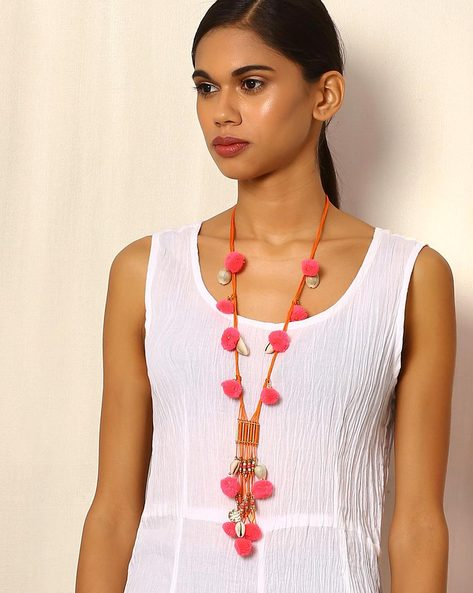 Lariat Style Necklace By Indie Picks ( Multi ) - 460054545001