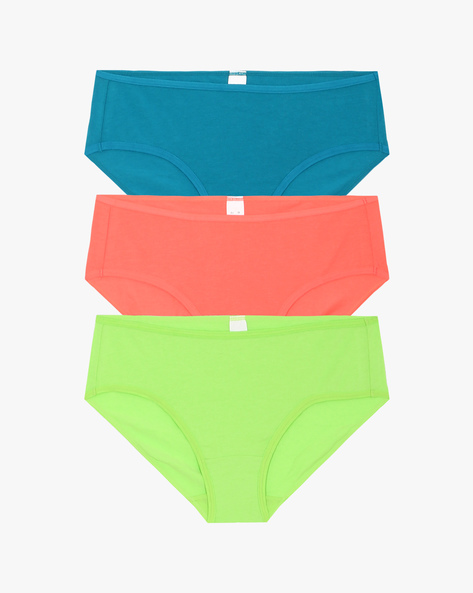 Set Of 3 Cotton Panties By TRIUMPH ( Multicolour )