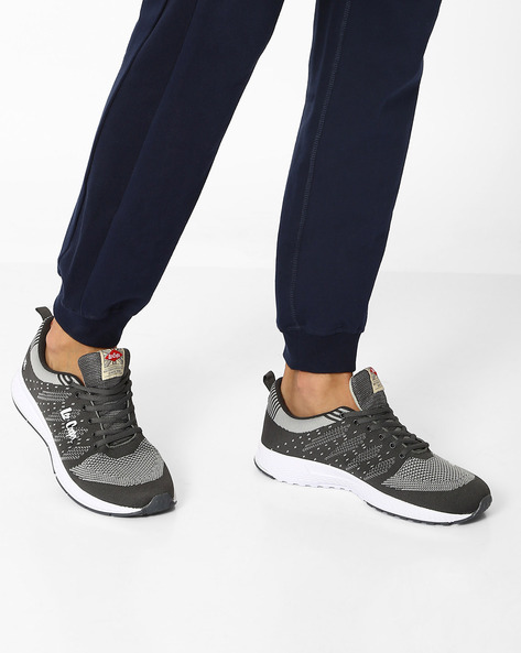 Lace-Up Sports Shoes By Lee Cooper ( Darkgrey )