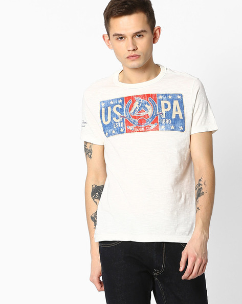 Graphic Print T-shirt By U.S. Polo Assn. ( Assorted )