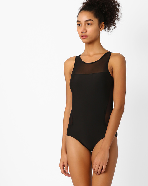 Swimsuit With Cut-Out Detail By PrettySecrets ( Black )