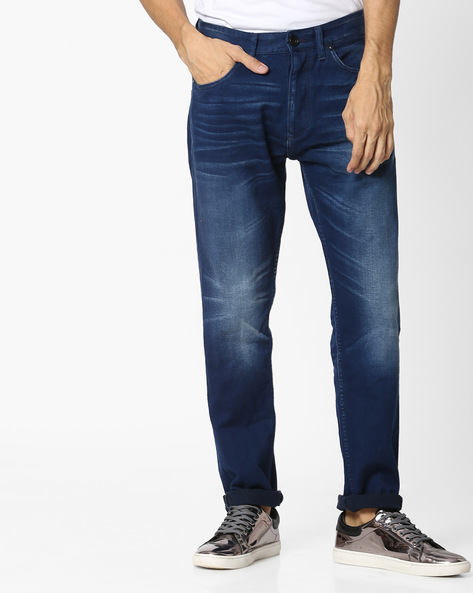 5-Pocket Slim Jeans By VOI JEANS ( Indigo )