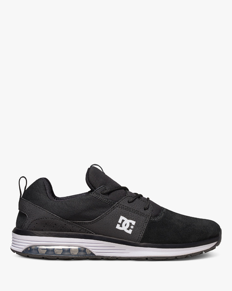Heathrow Panelled Lace-Up Shoes By DC Shoes ( 001 )