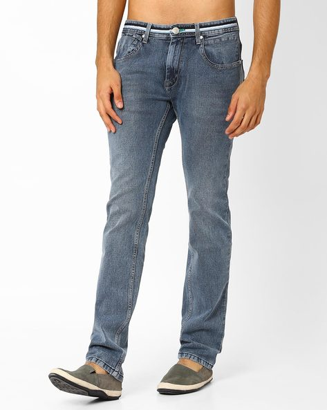 Lucifer Slim Fit Jeans By SIN ( Indigo ) - 460027243003