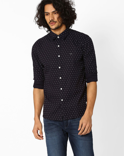 Printed Cotton Shirt By FLYING MACHINE ( Assorted )