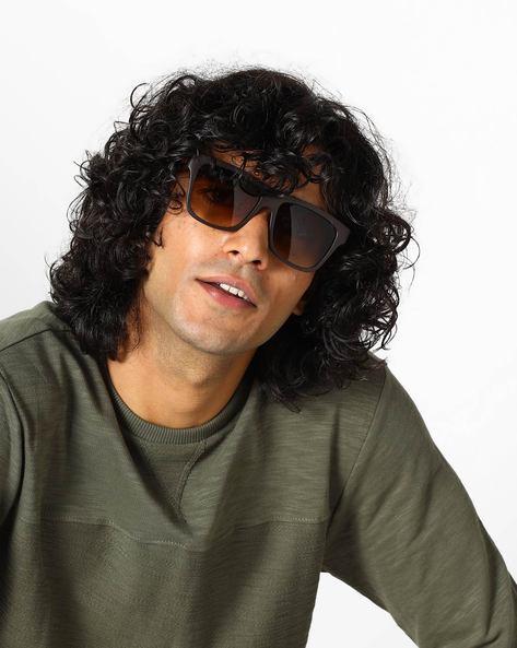 Graduated Wayfarer Sunglasses By SUPERMAN ( Brown )