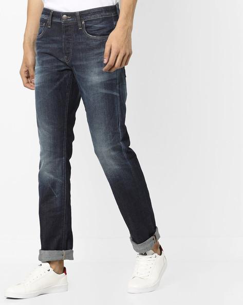 JI Clark RY 995 IN Washed Jeans By Jack & Jones ( Blue )