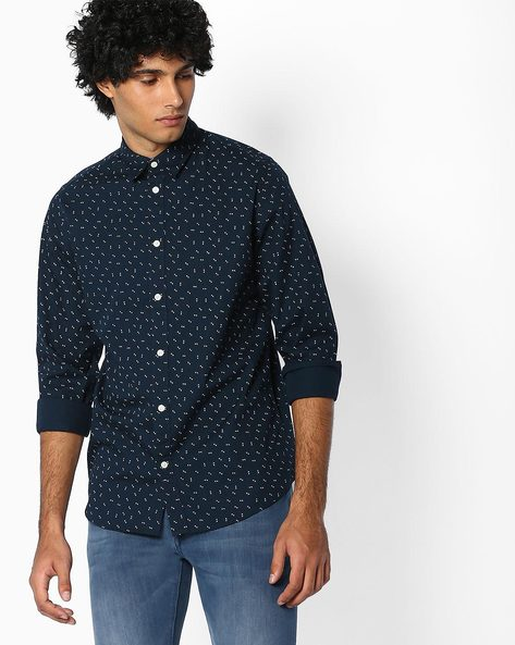Printed Cotton Shirt By SELECTED ( Assorted )