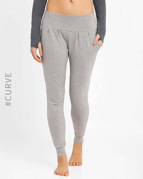 Cuffed Track Pants By AJIO ( Grey )