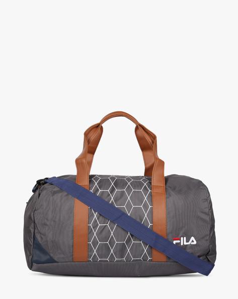 Printed Duffel Bag By FILA ( Grey )