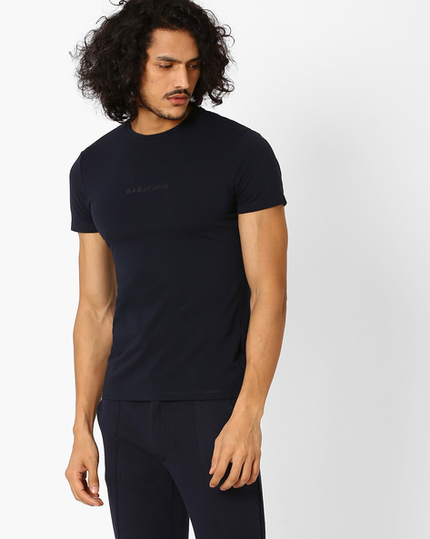 Crew-Neck Slim T-shirt By GAS ( 0194 )