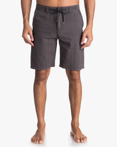 Mid-Rise Shorts With Drawstring Waist By QUIKSILVER ( Ksq0 )