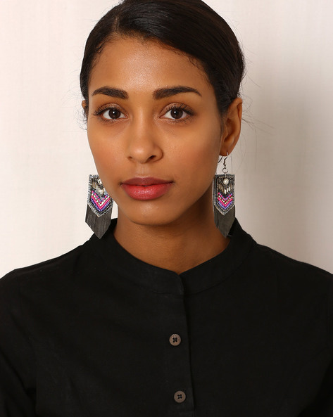 Beaded Drop-Earrings By Indie Picks ( Multi ) - 460042573001