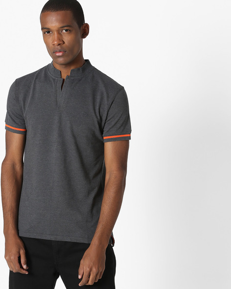 Johnny Collar Polo T-shirt By UNITED COLORS OF BENETTON ( Assorted )