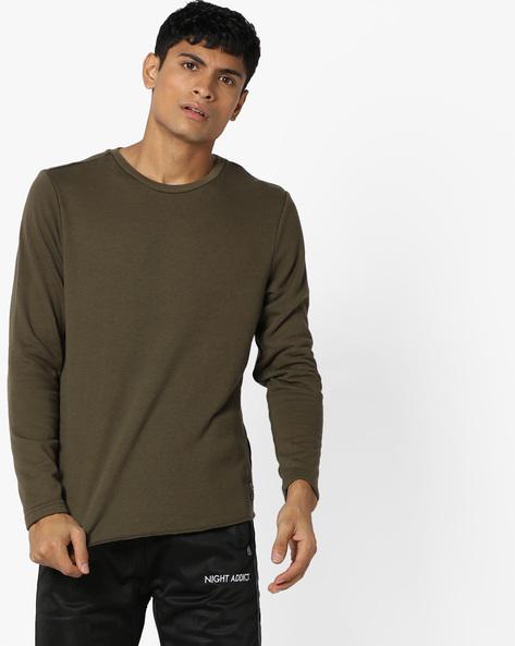 Panelled Crew-Neck Sweatshirt By GAS ( 107 )