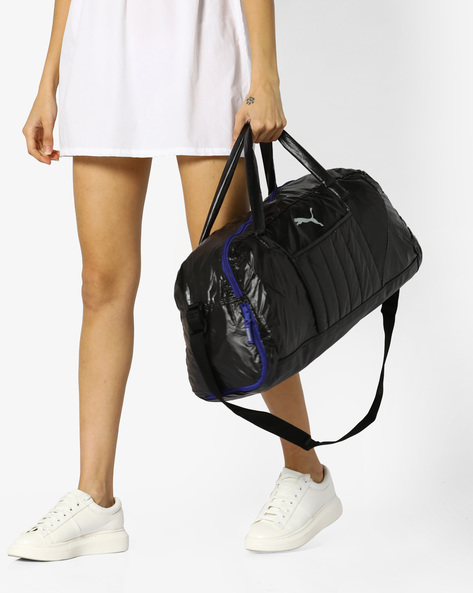 Fit At Sports Duffle Bag By Puma ( Black )