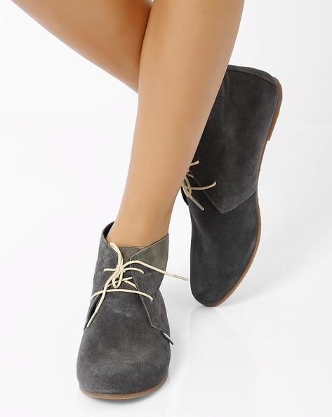 Desert Boots By Carlton London ( Grey )