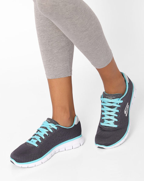Synergy Sports Shoes By Skechers ( Turq )