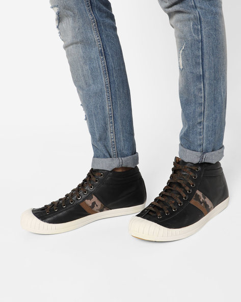 Lace-Up Casual Shoes By Knotty Derby ( Grey )