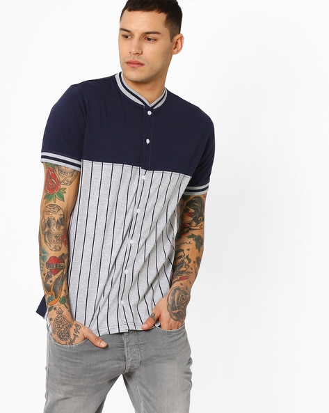 Striped Cotton Shirt By Garcon ( Assorted )