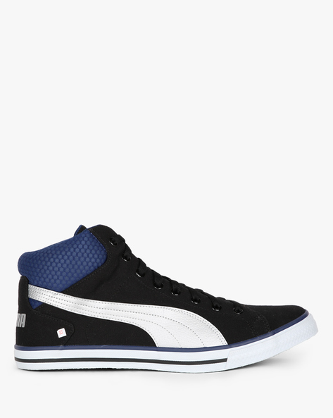Delta NU IDP Panelled Casual Shoes By Puma ( Black )
