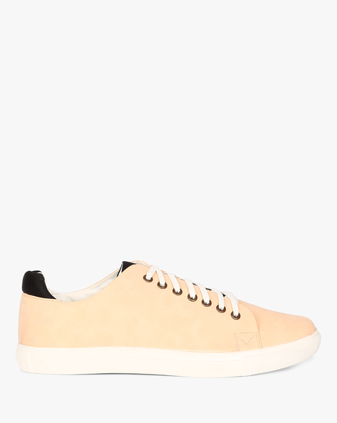 AJIO MEN SNEAKERS, RED, 7 By AJIO ( Red )