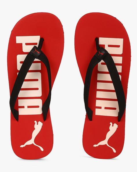 Flip IDP Flip-Flops With Branding By Puma ( Red )