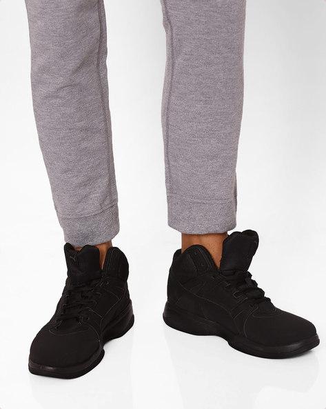 Rebound Street Evo SL Sneakers By Puma ( Black )