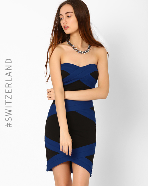 Bodycon Milano Dress By TALLY WEiJL ( Black ) - 460015158001
