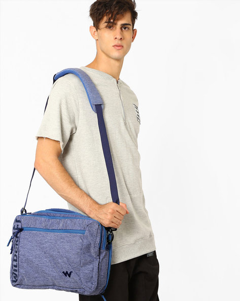 Portfolio Messenger Bag By Wildcraft ( Lightblue )