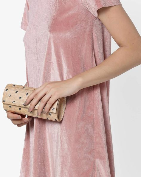 Embellished Box Clutch By Project Eve ( Multi )
