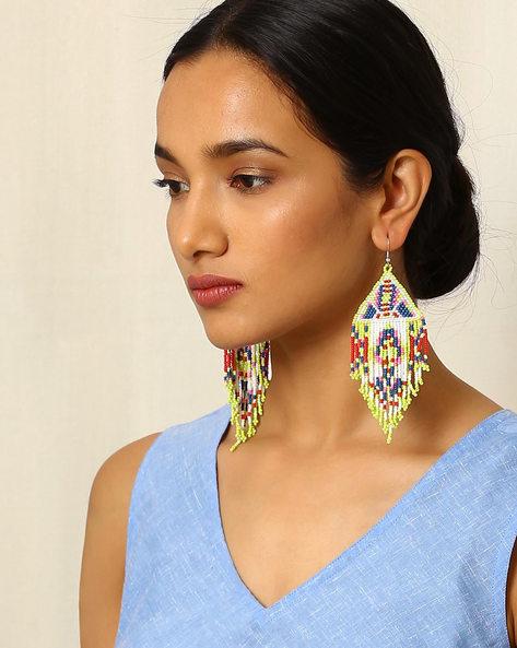 Beaded Drop-Earrings By Indie Picks ( Multi ) - 460042547001