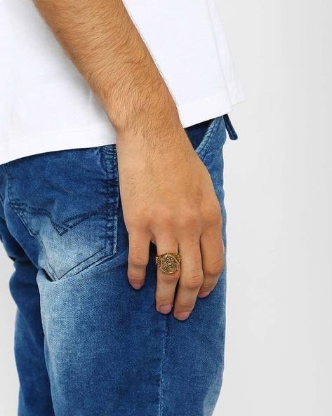 Machine Signet Ring By Alto Vida ( Antique )
