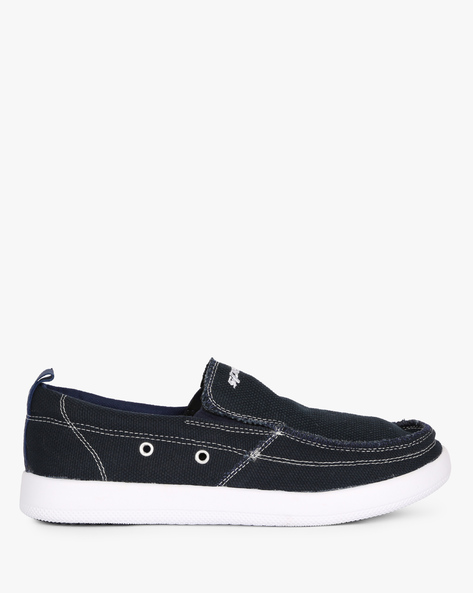 Canvas Slip-Ons Shoes By SPARX ( Navyblue )