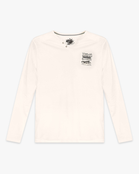 Henley T-shirt with Full sleeves