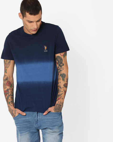 Ombre V-neck T-shirt By US POLO ( Assorted )