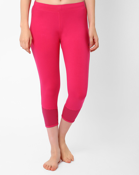Lounge Capris With Elasticated Waist By Sweet Dreams ( Pink )