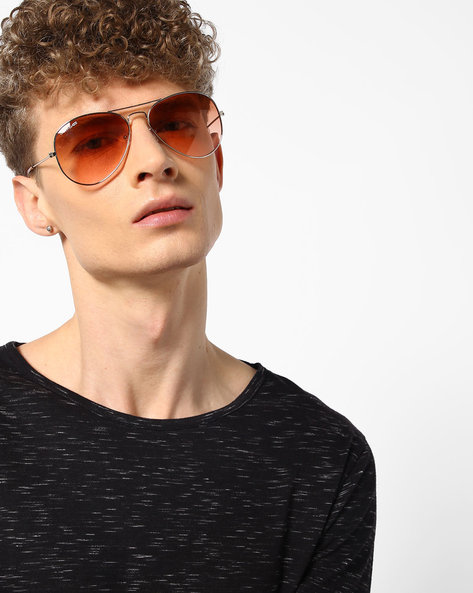 Aviator Sunglasses With Top Bar By DANNY DAZE ( Brown )