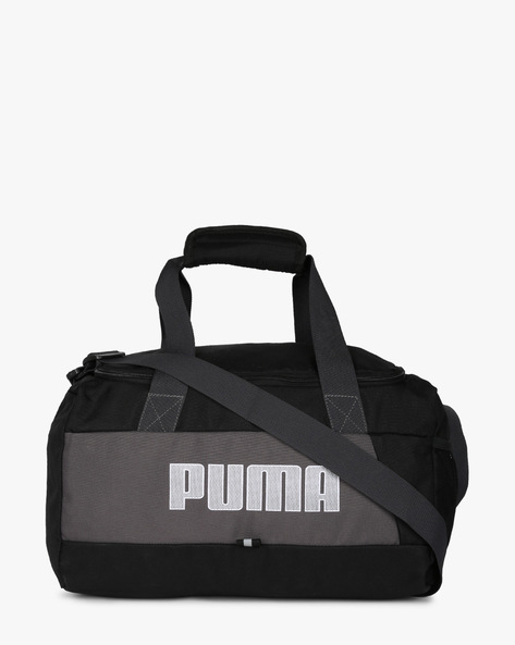 Duffel Bag With Adjustable Strap By Puma ( Black ) - 460189544001
