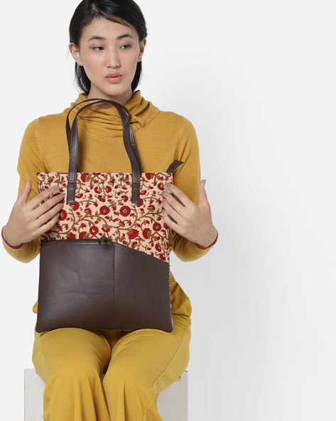 Panelled Tote Bag By Project Eve ( Multi )