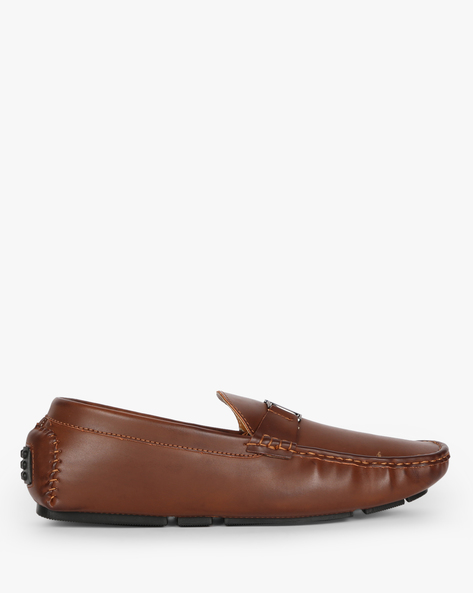 Low-Top Loafers With Lugged Sole By Carlton London ( Brown )