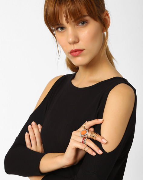Set Of 6 Stackable Rings By Pipa Bella ( Multi )