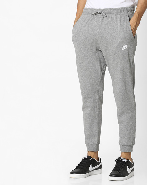 Joggers With Drawstring Fastening By NIKE ( Grey )