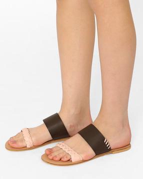 Braided-Flat-Sandals