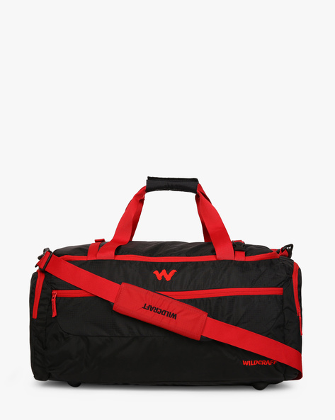 Commuter 1 Water-Resistant Duffel Bag By Wildcraft ( Black )