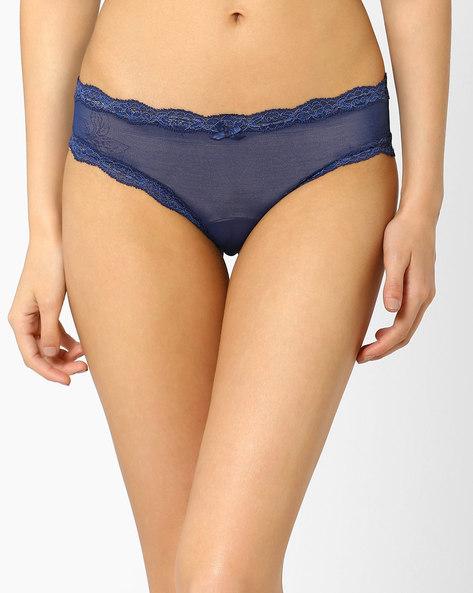 Mesh Bikini Panty By PrettySecrets ( Blue )