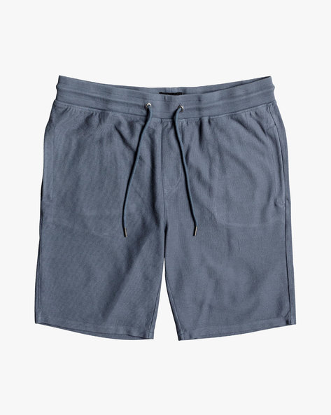 Cotton Shorts With Drawstring Waist By QUIKSILVER ( Byl0 )