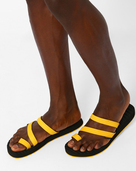 Caesar Toe-Ring Flip-Flops By Sole Threads ( Black )