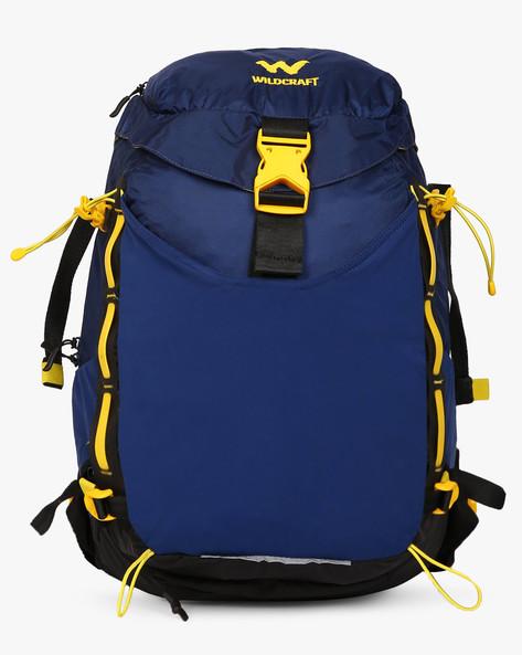 Vapra Water-Resistant Panelled Backpack By Wildcraft ( Blue )
