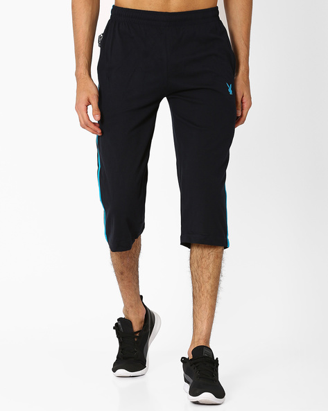 Cotton 3/4th Lounge Pants By Playboy ( Navyblue )